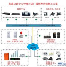高速公路网络IP广播对讲系统