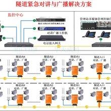 深圳華天成隧道緊急電話及廣播緊急救援專用通信系統圖