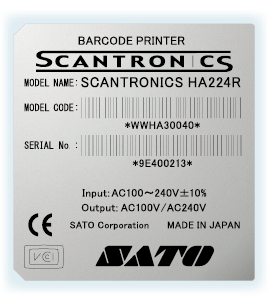 佐藤SATO白色耐刮防水碳带-电力行业