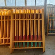 厂家定制生产耐腐蚀抗老化玻璃钢绝缘围栏变压器安全护栏图片