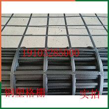 鑫盛格栅厂家出售加固钢塑格栅公路路基用钢塑土工格栅承重力强图片