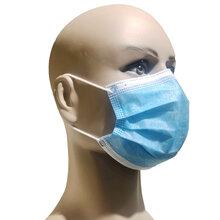 3层非医用无纺布、熔喷布一次性口罩图片