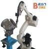 焊接机器人光束斑点小、功效大小可调节、光纤输送激光