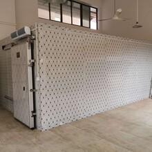 信宜食堂冷庫施工圖片