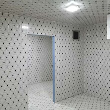 江門食堂冷庫施工圖片