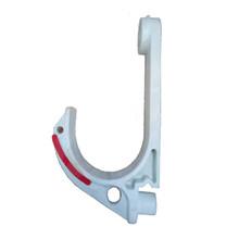 礦用電纜掛鉤吊鉤阻燃抗靜電絕緣塑料GL-PVC68電纜電線掛鉤鋼絲扣圖片