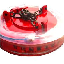 惠州码头吊电磁吸盘图片