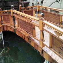福州外景观木桥制造图片