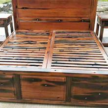 長沙實木床供應圖片
