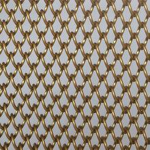 幕墙装饰网硕隆金属网防竹编菱形装饰网勾花装饰网图片