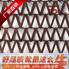 金属网带售楼处隔断装饰网不锈钢网带硕隆幕墙防护网图片