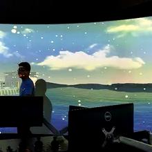 徐州环幕投影系统图片