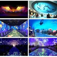 上海全息投影互动图片