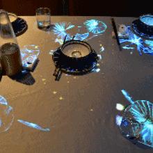 聊城3D全息餐厅投影公司图片