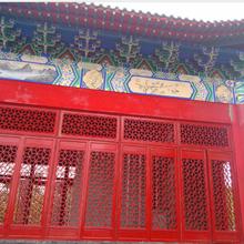 寺庙门窗、寺院祠堂门窗定制、成都仿古门窗厂图片