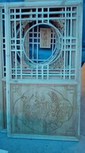 四川做雕花的、纯手工雕刻,机雕各种实木花格,古建实木雕花厂图片
