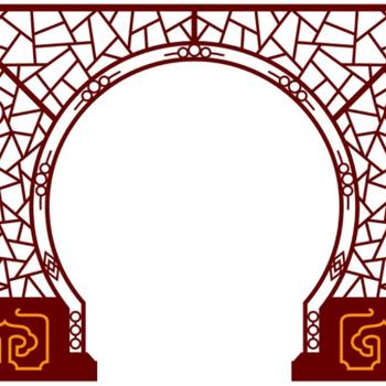 四川做垂花门落地罩的、实木垂花门、装饰拱门、雕花镂空落地罩