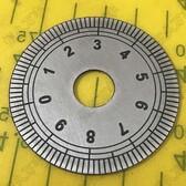 刻度盤機械角度配件圓盤