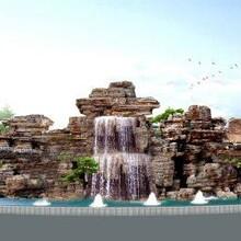 山東千層石假山施工公司千層石價格圖片
