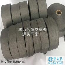 江苏不锈钢金属纤维布,玻璃瓶罐生产线用耐高温金属布金属带图片