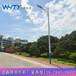 泉港区主干路10米自弯型路灯杆规格,球场7米一拖二照明灯杆