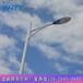 马尾区马路10米自弯型照明灯杆,小区公园景观灯杆款式
