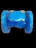法兰橡胶瓣止回阀H44X-16单向止回阀DN各种型号