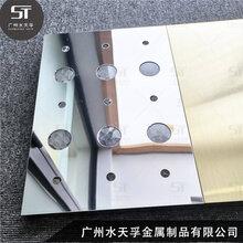 广优游注册平台水天孚304不锈钢花纹蜂窝板201不锈钢彩色蜂窝板图片