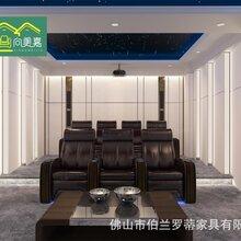 私人影院头等舱功能沙发组合影视厅双人位电动沙发椅图片
