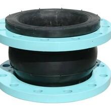 天津可曲挠橡胶接头泵房上海富祯橡胶接头排污给水图片