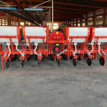山东玉米气吸免耕施肥播种机自动播种机农机
