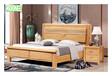 實木床1.8米雙人床主臥室大床經濟型1.5米儲物床架橡木床婚床家具