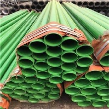 广东给水涂塑复合钢管热浸塑波纹管抽放复合管图片