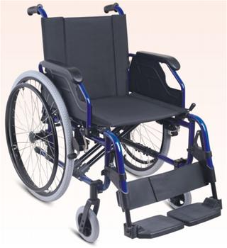 廠家多功能鋁合金輪椅折疊輕便輪椅車