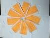 厂家直销橙色一次性民用口罩防护透气款口罩