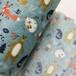 厂家批量生产儿童水刺印花无纺布一次性儿童pp纺黏无纺布