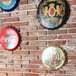 長沙老紅磚切片,長沙舊磚皮,晴川藝術磚瓦