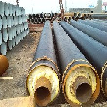 预制直埋保温钢管钢套钢保温钢管聚氨酯保温钢管厂家图片