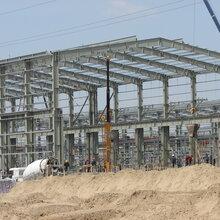现代钢结构厂房,钢结构公司,三维钢构公司图片