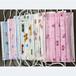 厂家批发一次性口罩印花布儿童卡通印花无纺布定制纺粘无纺布印花