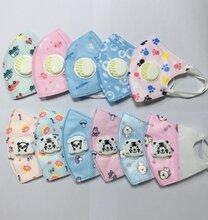 婴幼儿儿童卡通水刺布成品口罩厂家直销可定制图片