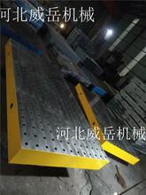供应铸铁T型槽平台轻型重型铸铁平台t型槽现货直发图片