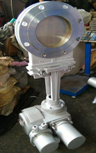 PZ973W-10NR耐高温电动灰闸阀、高温刀型灰渣阀图片