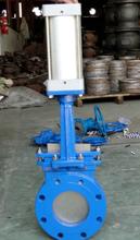 PZ673X-10C电控气动刀闸阀、气动耐磨闸板阀图片