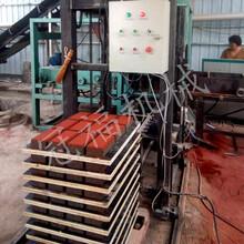 二次布料彩色路面磚機設備QT3-15型全自動水泥面包磚機圖片