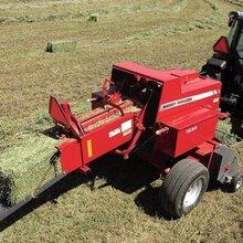 揉絲粉碎打捆機牧草打捆機打捆包膜機圖片