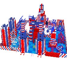海洋球池绳网攀爬室内乐园EPP积木城堡网红蹦蹦床跳床游乐设备图片