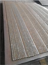 高铬合金堆焊复合耐磨衬板规格6+4,6+6,8+8,10+10电厂水泥钢铁图片