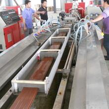 明太塑木地板厂家,湖州耐用14025圆孔塑木地板图片