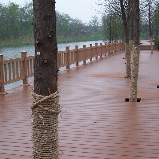 富陽區塑木地板施工安裝,仿木地板